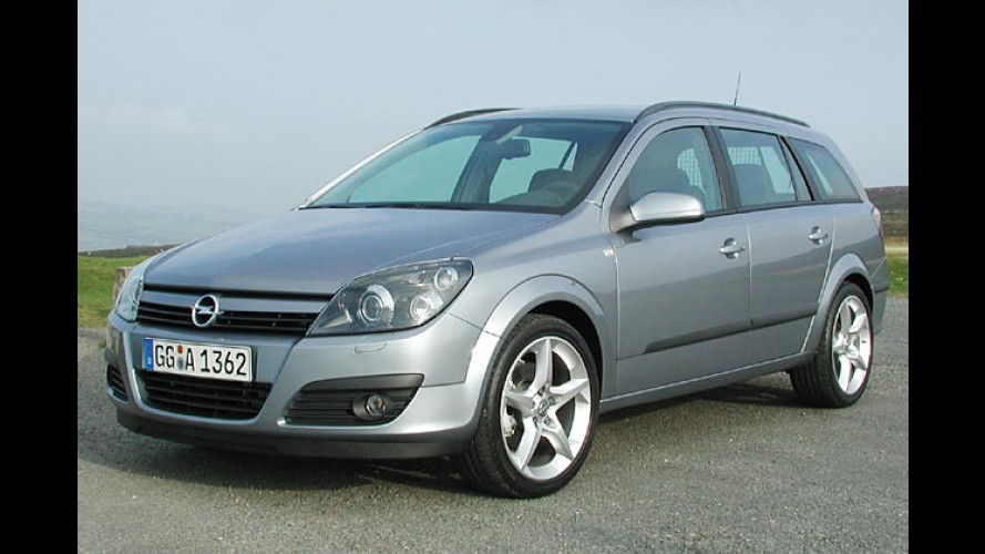 Opel Astra Caravan mit FlexOrganizer: Einfach clever gepackt
