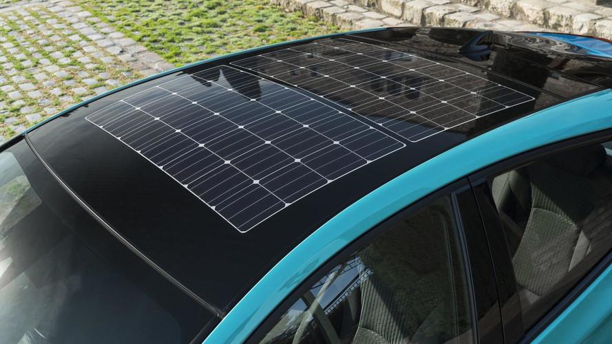 Toyota Prius güneş paneli patent