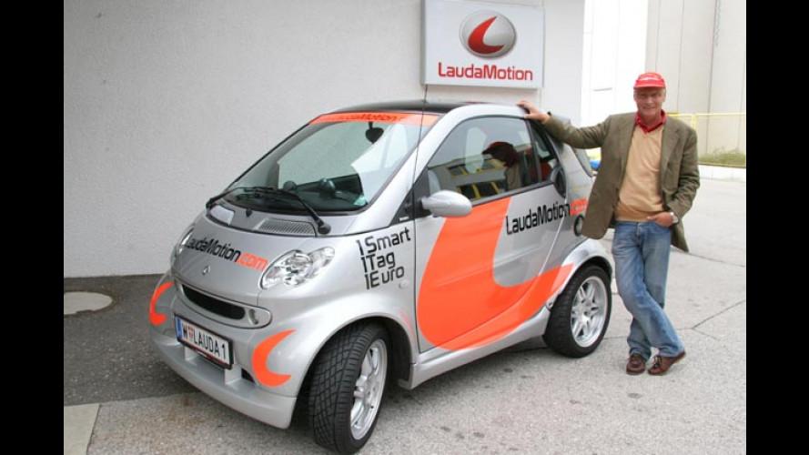 Laudamotion: Ungewöhnliche Mietauto-Idee expandiert