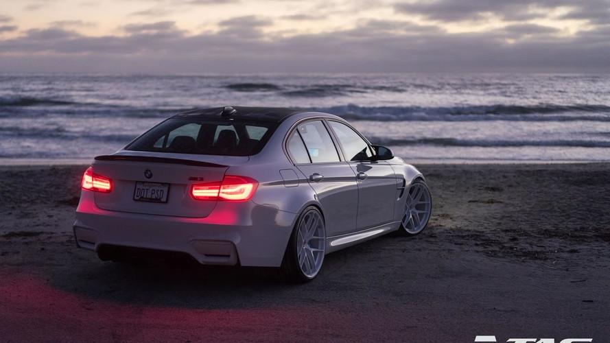 PHOTOS - Une très belle BMW M3 inspirée de la M4 GTS