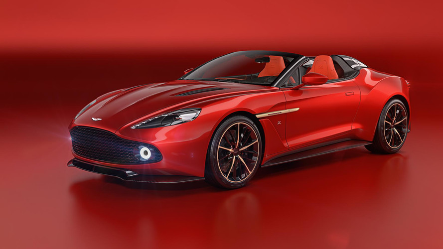 Aston Martin Vanquish Zagato ailesi