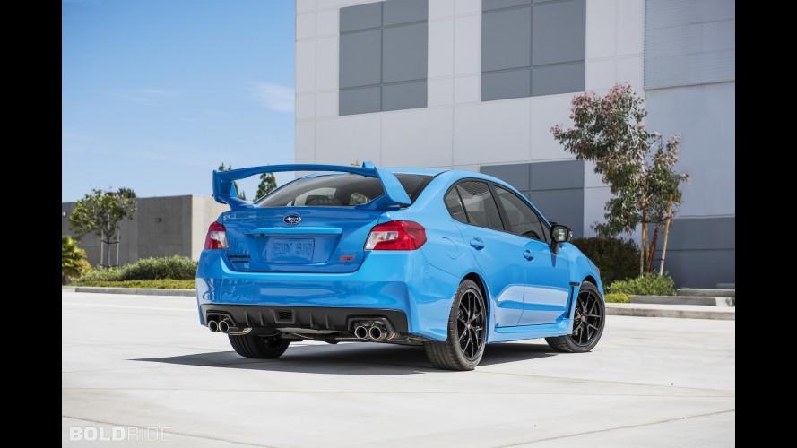Subaru WRX STI Series.HyperBlue