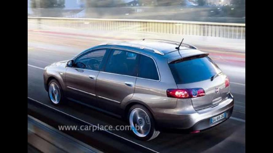 Fiat Croma 2008 - Novo modelo será apresentado no Salão de Bolonha