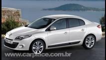 Novo Renault Mégane 2009 - Surgem as primeiras projeções da versão sedan