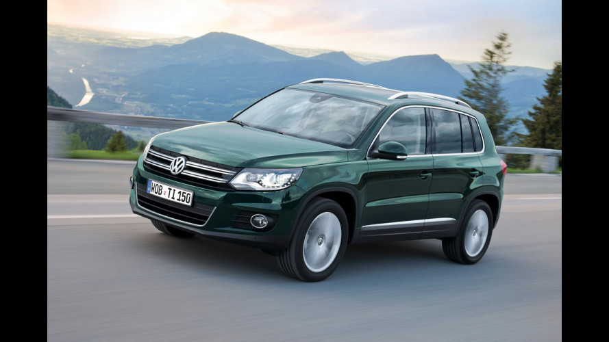 Volkswagen Tiguan restyling: i prezzi