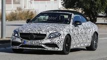2017 Mercedes-AMG C63 Cabriolet spy photo