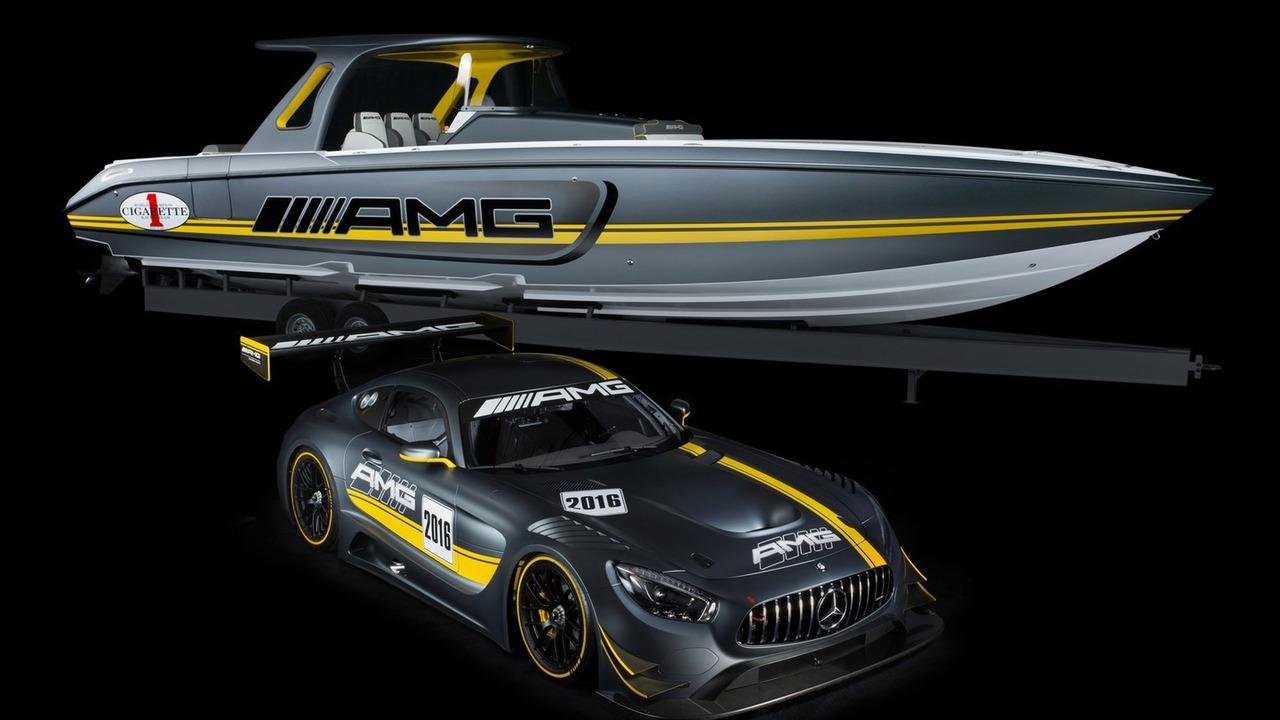 Mercedes-AMG Cigarette Racing powerboat