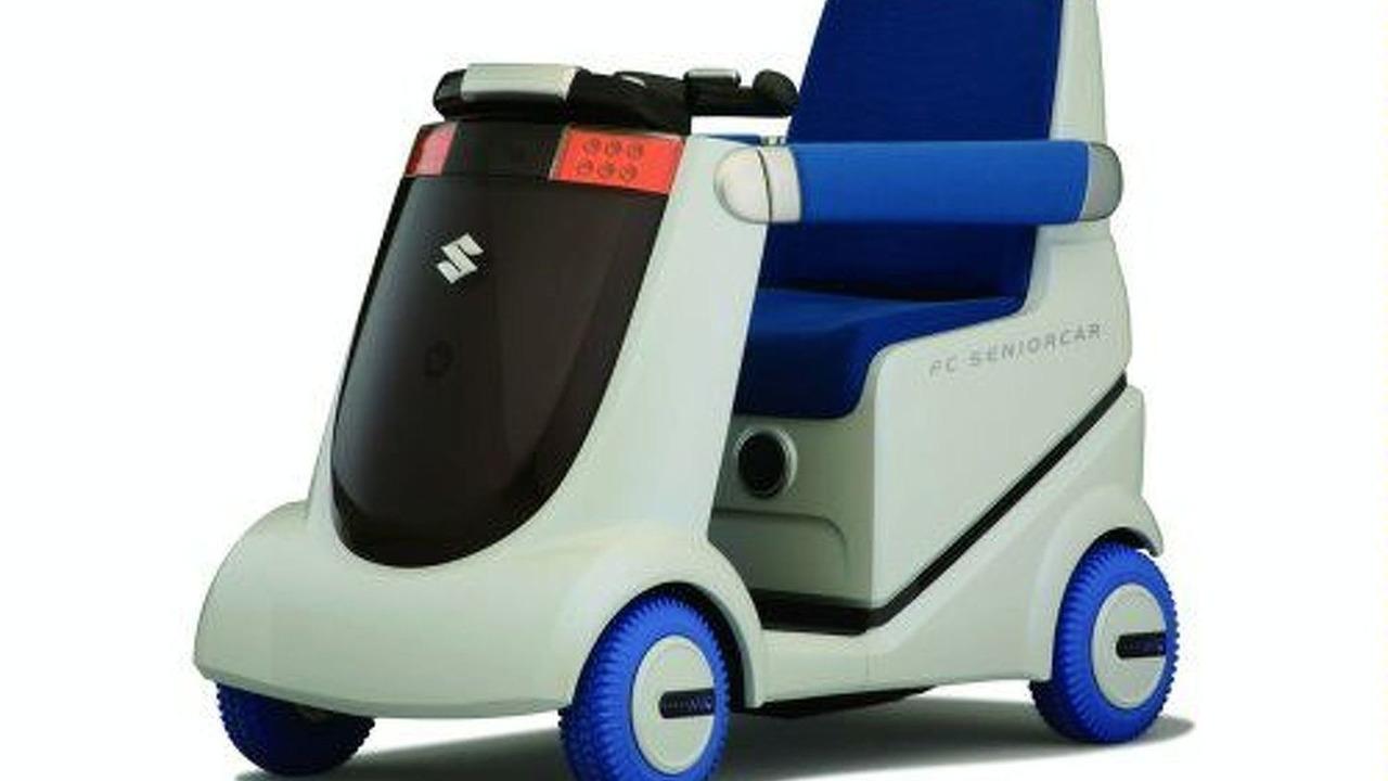 Suzuki Fuel Cell Wheelchair