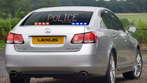 Lexus GS 450H Unmarked Police Car