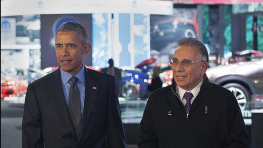 Obama al Salone di Detroit elogia l'auto americana