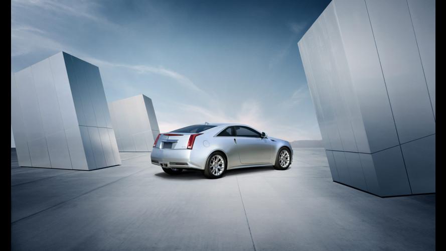 Cadillac CTS Coupé: le prime informazioni ufficiali