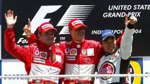 Michael Schumacher, mejor piloto de Ferrari