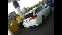 Toyota Auris Hybrid Touring Sports, test di consumo