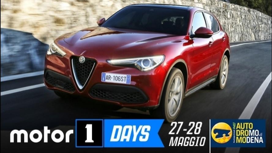 Motor1Days, Alfa Romeo Stelvio e Giulia tutte da guidare