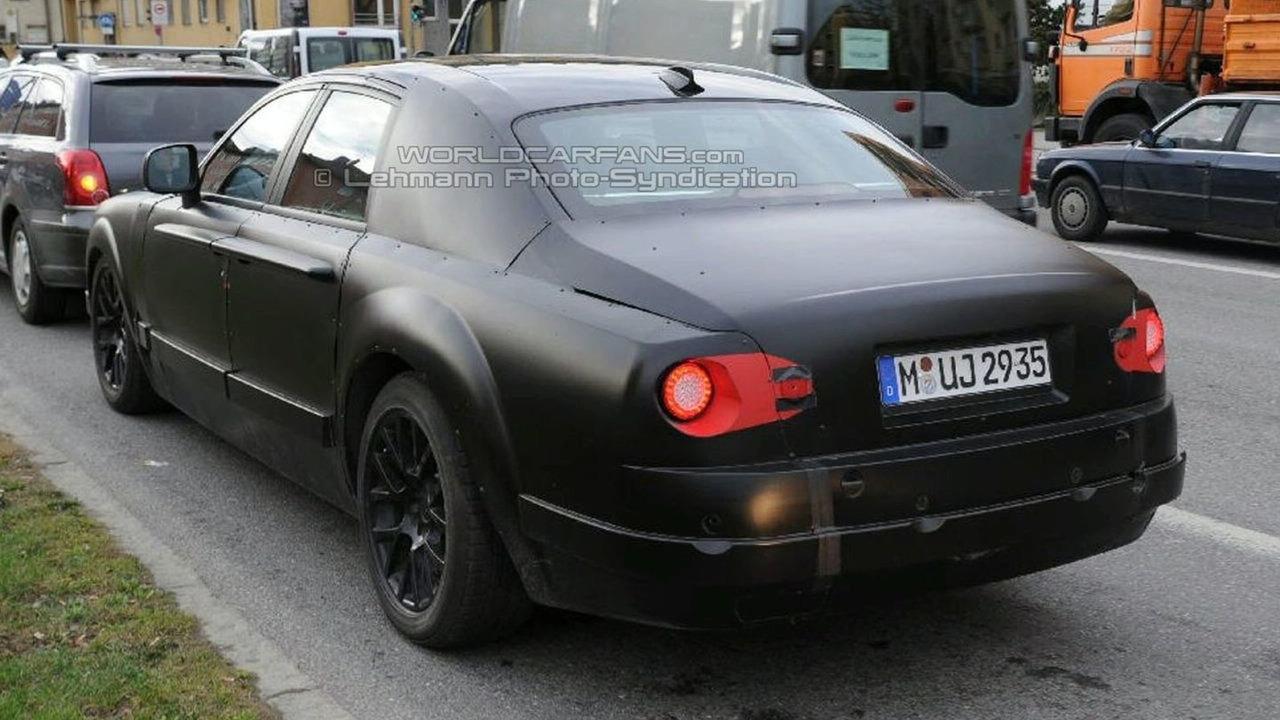 New Baby Rolls Royce Spied in Munich