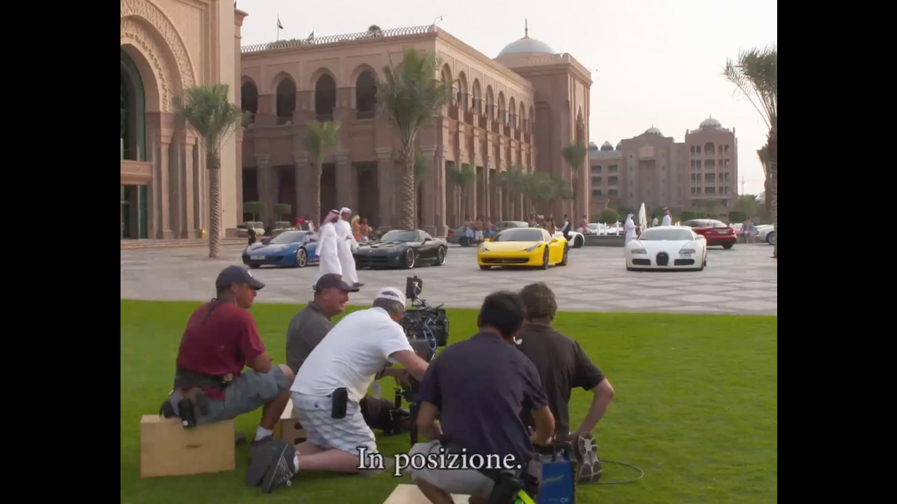 Fast and Furious 7, il backstage ad Abu Dhabi