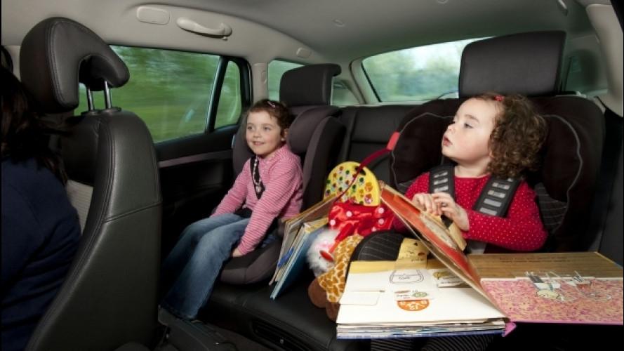 Bambini in auto, i 10 errori da non fare mai