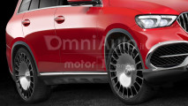 Mercedes-Maybach SUV, il rendering