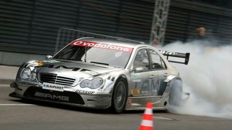 Bruno Spengler Burns Out DTM Car