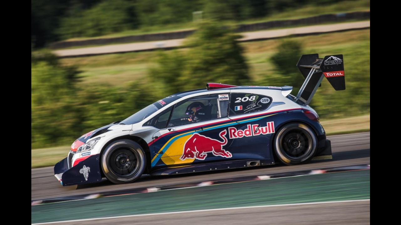 Peugeot 208 T16 Pikes Peak - Test di Sebastien Loeb