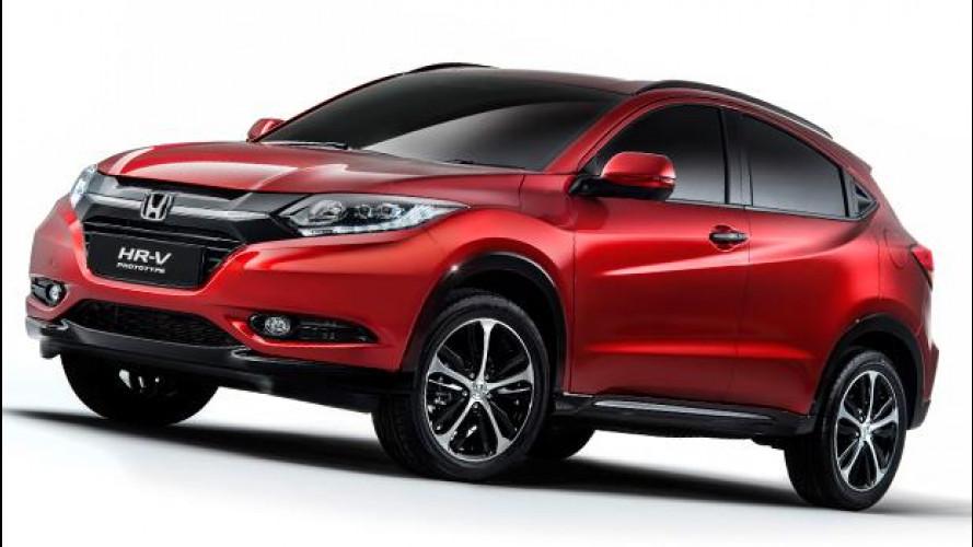 Honda HR-V, ecco il nuovo piccolo SUV