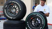 Bridgestone tyres, Abu Dhabi Grand Prix, 29.10.2009 Abu Dhabi, United Arab Emirates
