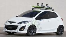 Mazda2 Active2 Snow concept
