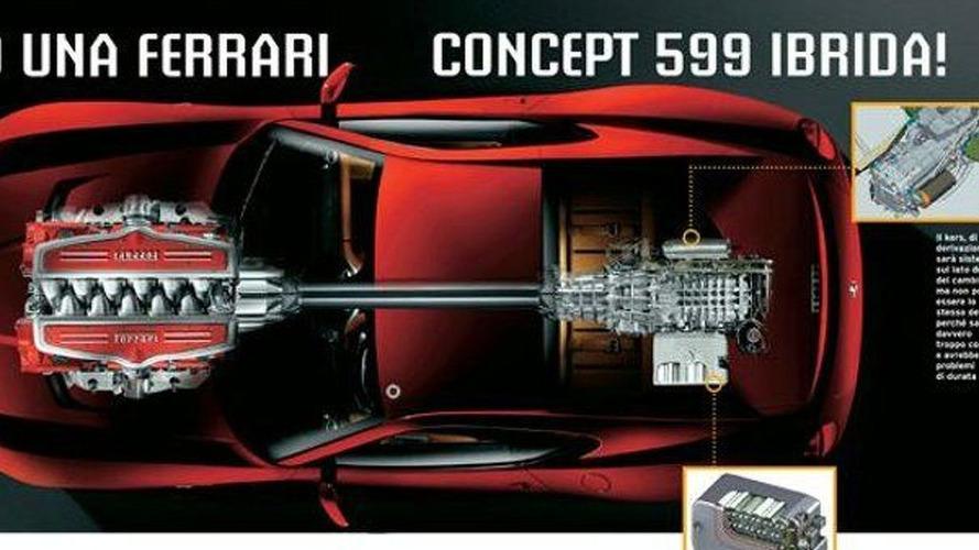 Ferrari 599 Hybrid Concept to Appear in Geneva - report