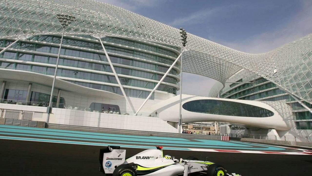 Jenson Button (GBR), Brawn GP, Abu Dhabi Grand Prix, Friday Practice, Abu Dhabi, United Arab Emirates, 30.10.2009