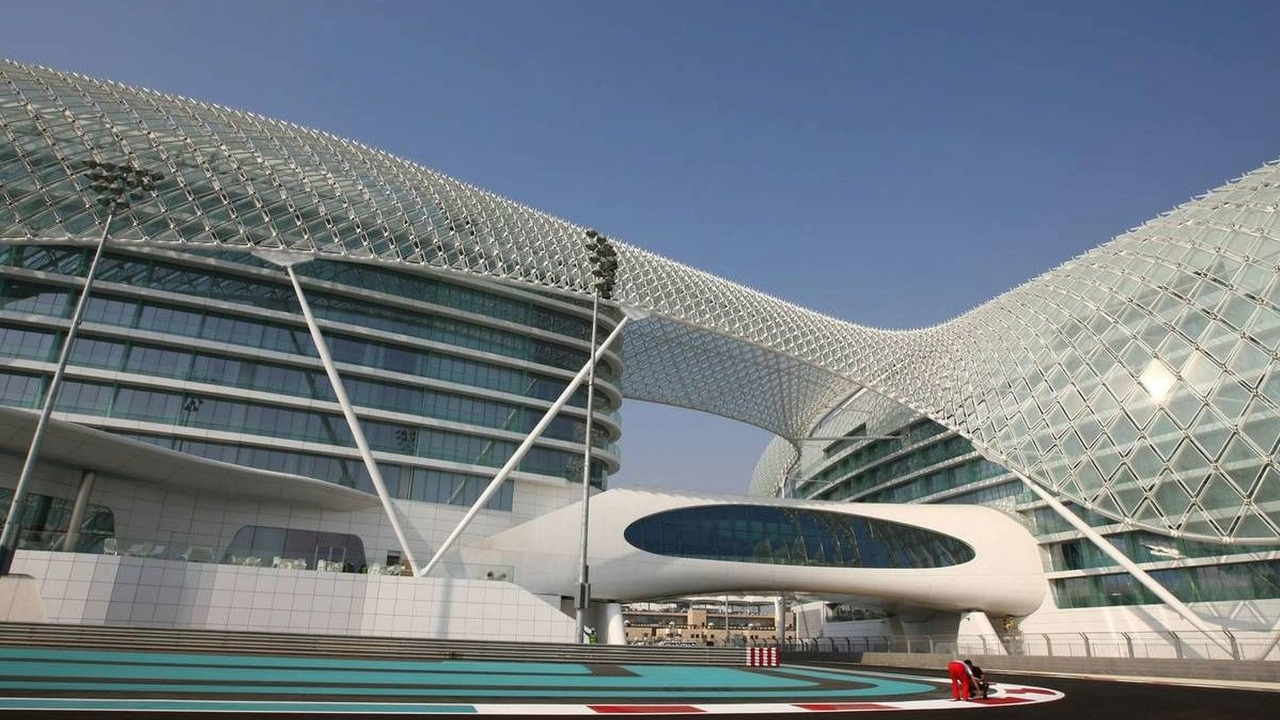 The New Abu Dhabi Yas Marina circuit, Abu Dhabi Grand Prix, 28.10.2009 Abu Dhabi, United Arab Emirates