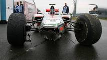 Lewis Hamilton (GBR), McLaren Mercedes crashed during the session , German Grand Prix, Friday, 23.07.2010 Hockenheim, Germany