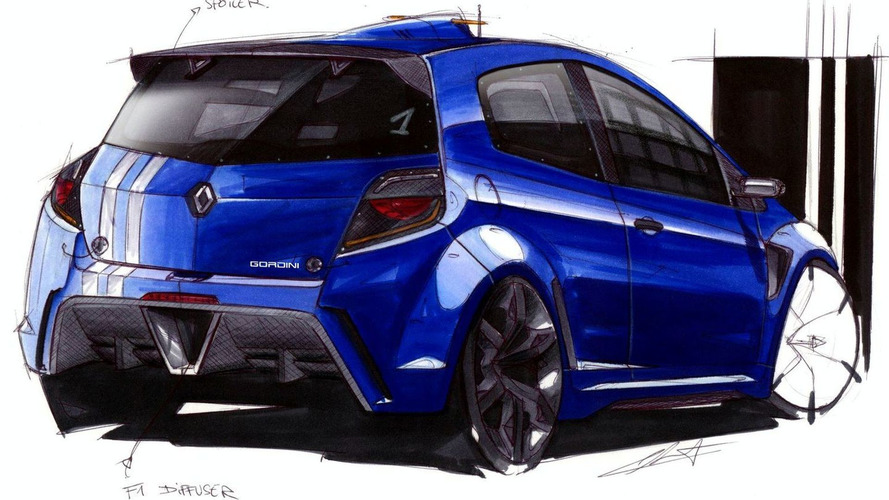 Renault Clio RS Gordini artist interpretation