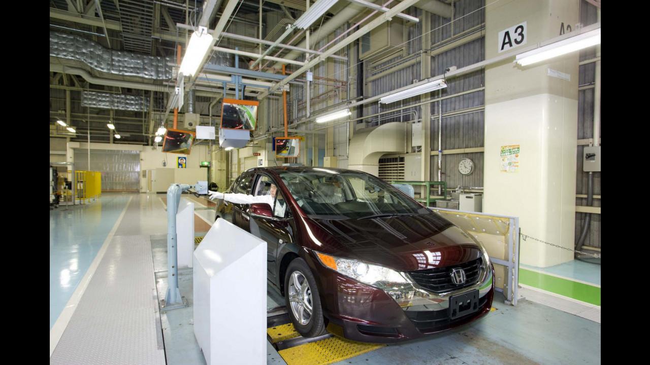 Honda: la FCX a fuel cell va in produzione