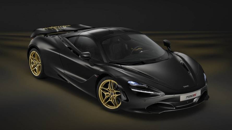 McLaren 720S Black And Gold One-Off Debuts At Dubai Motor Show