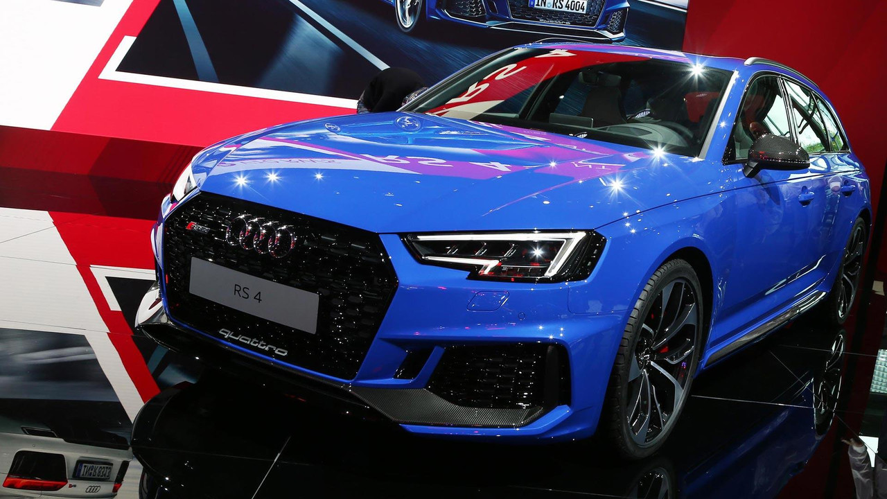 2018 audi rs4 avant blends power with practicality. Black Bedroom Furniture Sets. Home Design Ideas