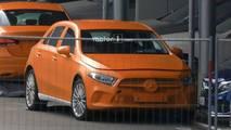 Mercedes Clase A 2018 sin camuflaje
