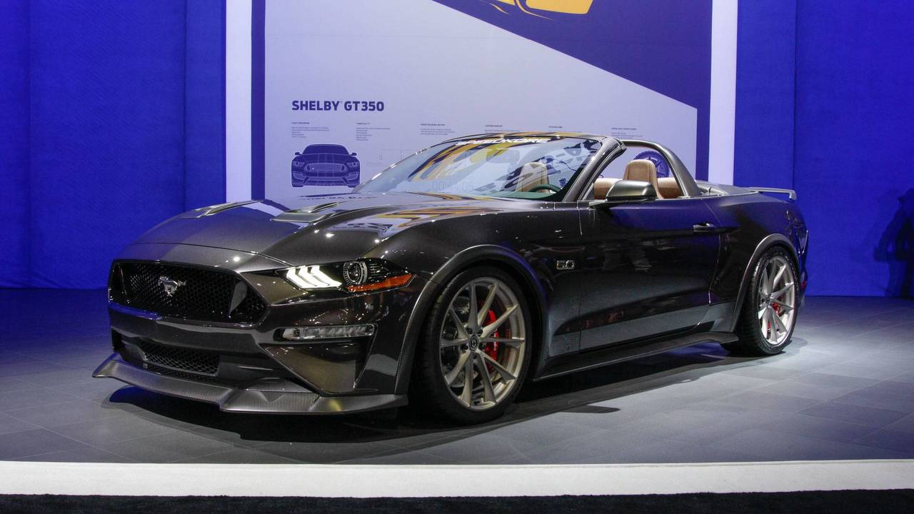 7 tuned ford mustangs live from sema. Black Bedroom Furniture Sets. Home Design Ideas