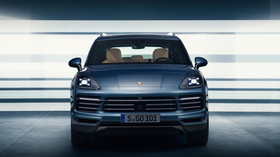 2018 Porsche Cayenne leaked official images