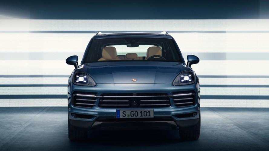 2018 Porsche Cayenne Kiszivárgott képek