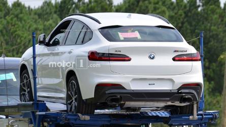 Cazamos al BMW X4 2019 sin camuflaje