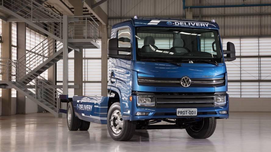 Desenvolvido no Brasil, caminhão elétrico da VW operará em 2018