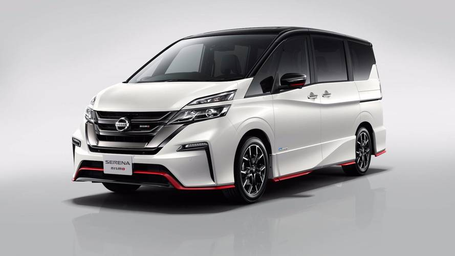 Nissan Serena Minivan Gets A Hot Nismo Sport Package For Tokyo