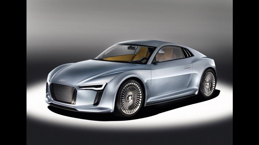 Audi R8 e-Tron: dal 2012 a 160.000 euro