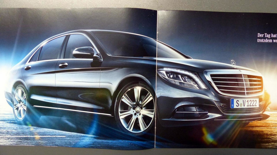 2014 mercedes s class brochure leaked for How much is a 2014 mercedes benz s550