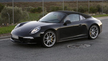 2013 Porsche 911 Targa spied up close