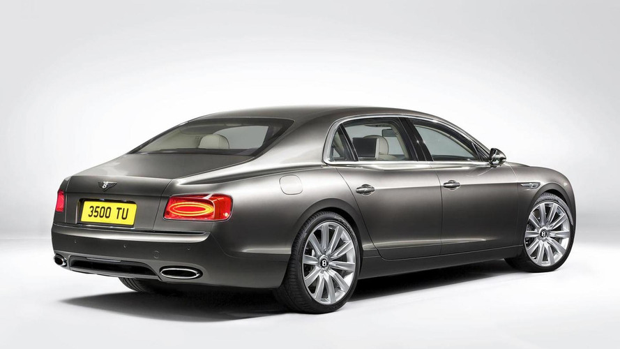 2014 Bentley Continental Flying Spur leaked