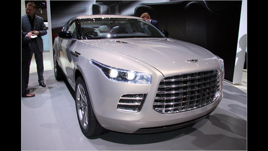 Lagonda: Aston Martin zeigt Studie mit berühmten Namen