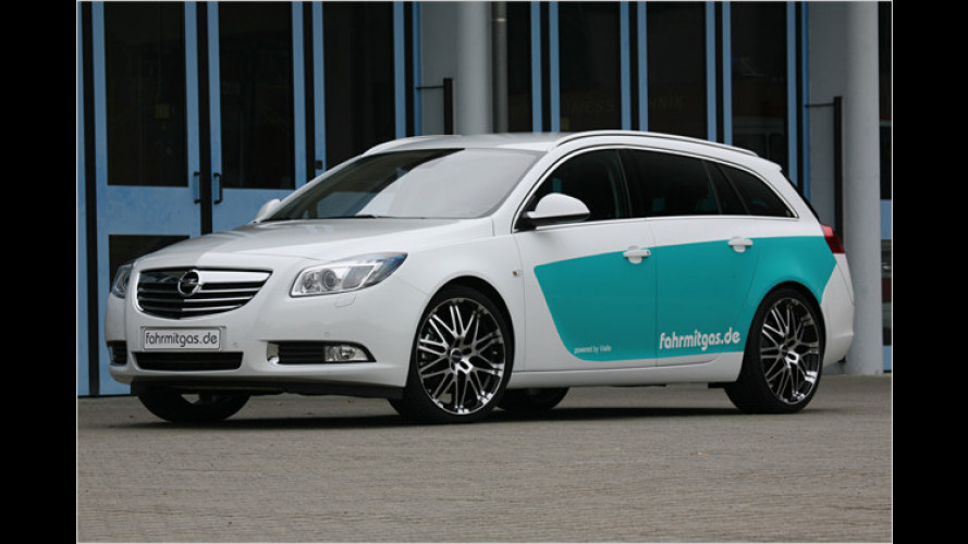 Sparen im Insignia: Autogassysteme für den großen Opel