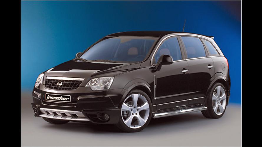 Nachrüstsatz von Irmscher: Opel Antara als LPG-Version