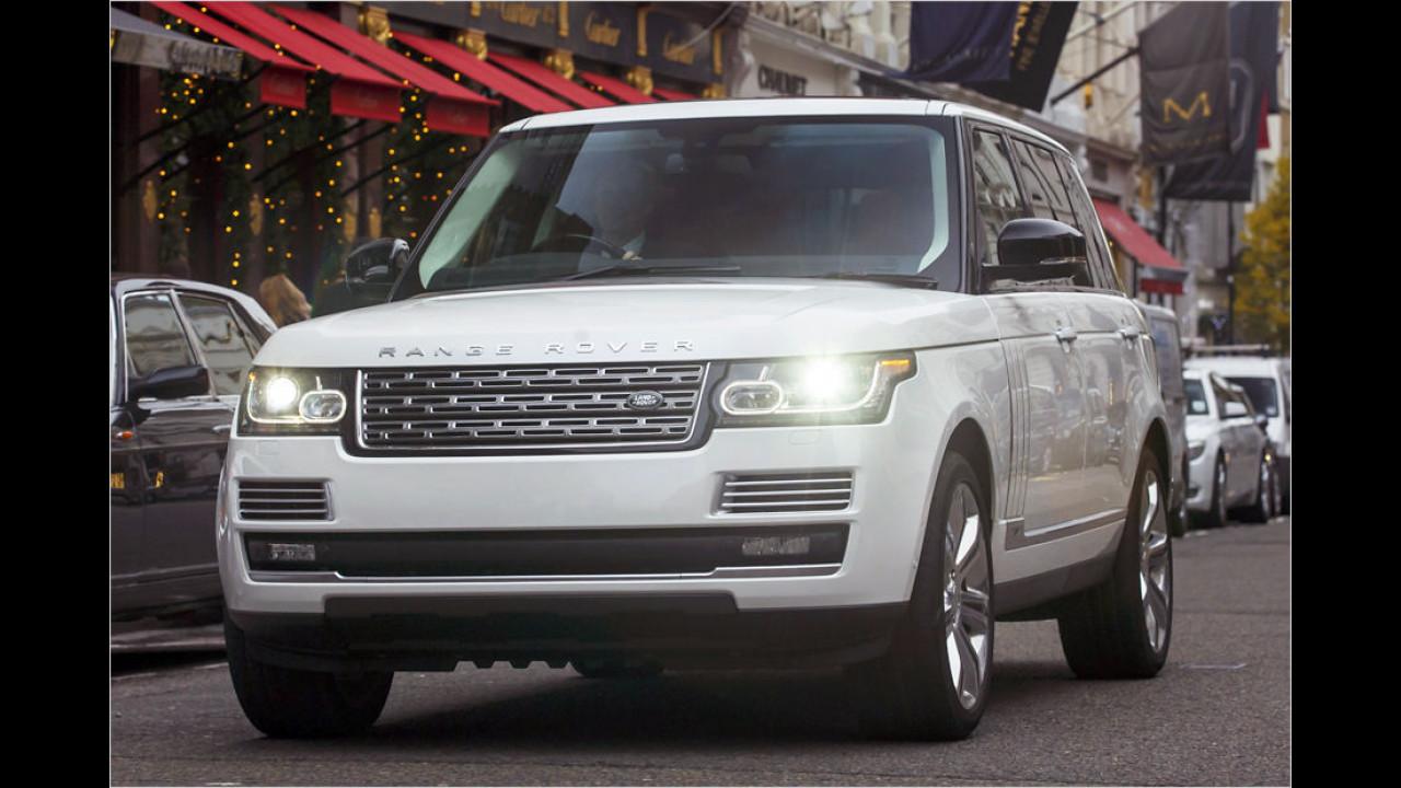 Platz 5: Range Rover 5.0 V8 SV LWB (2.523 Kilo)